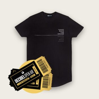 LONGLINE T-SHIRT - Takes Back The Sound + Regular Ticket