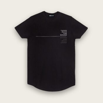 LONGLINE T-SHIRT - Takes Back The Sound_front