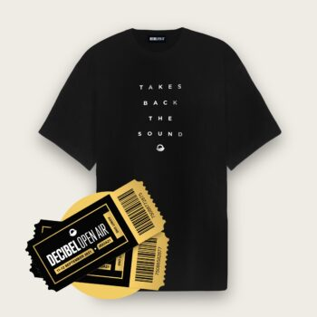 OVER T-SHIRT - Takes Back The Sound + Regular Ticket
